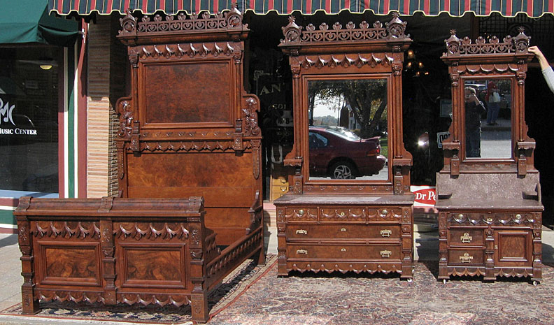 Foot Studio Apartment Together With Antique Victorian Bedroom Set