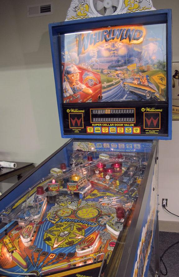 williams whirlwind pinball machine