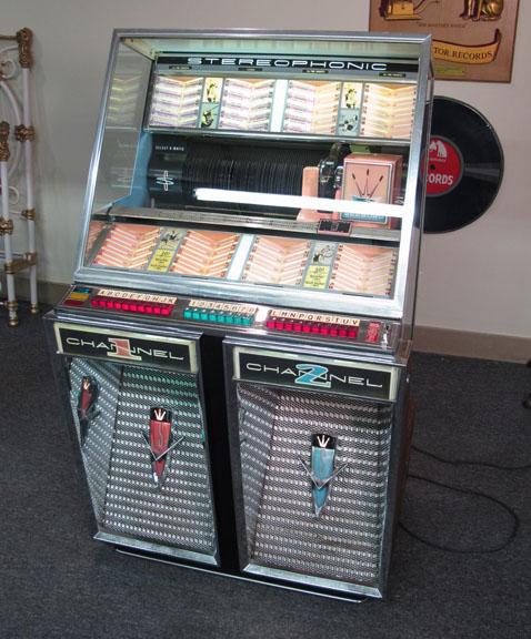 Seeburg Stereophonic Model 222 Juke Box