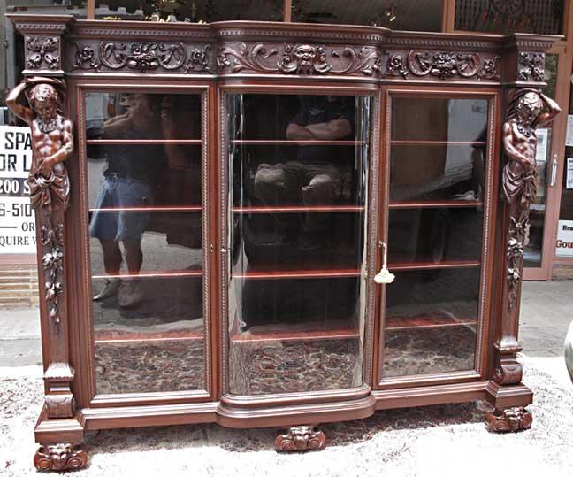 Rj Horner Atlas Triple Door Bookcase